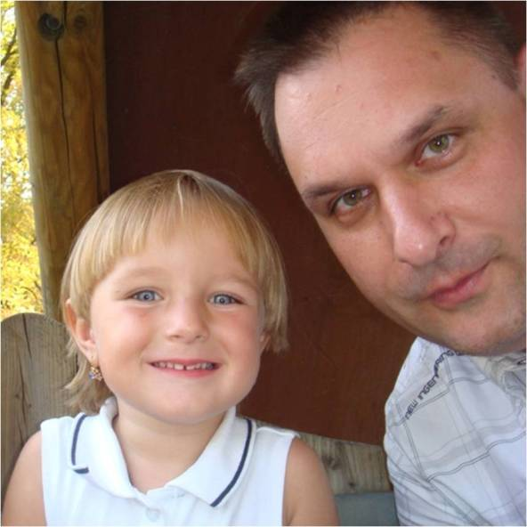 Elena et son Papa